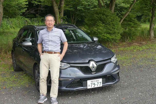 画像: モータージャーナリストの瀬在仁志氏。雑誌「ホリデーオート」を中心に活躍中だ。