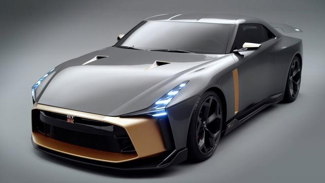 画像: Nissan GT-R 50 by Italdesign youtu.be