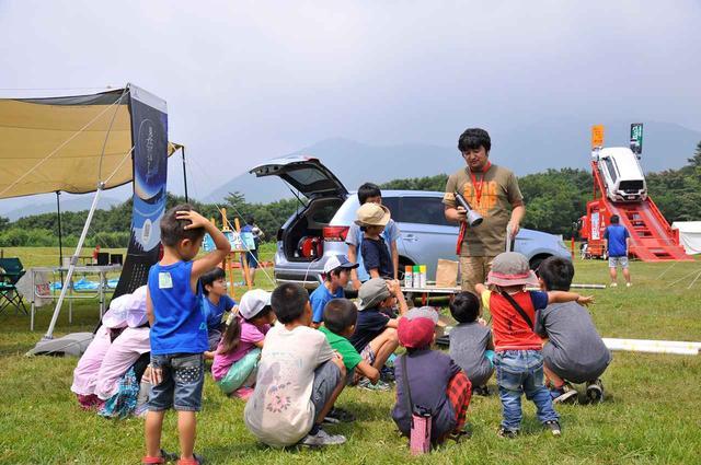 画像: 子どもが楽しめるイベントが豊富なスターキャンプ。