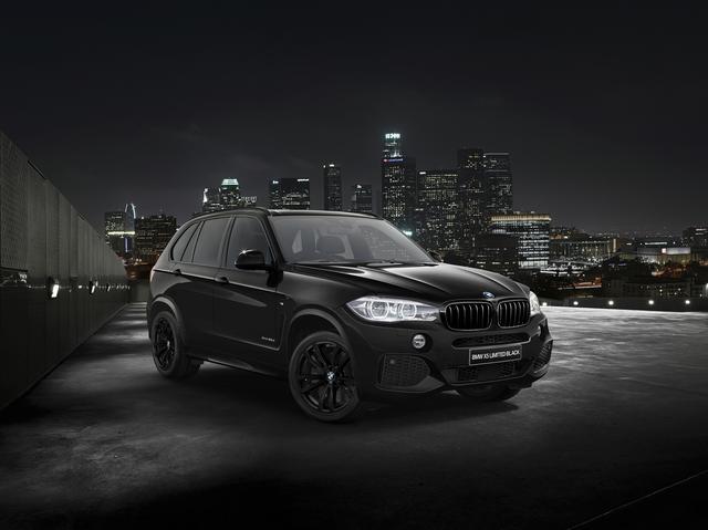 画像: BMW X5 LIMITED BLACK。実に精悍なスタイルで迫力も十分。