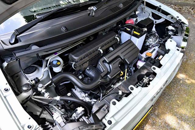 画像: エンジンはノンターボのみだが、走りはけっこう軽快! 組み合わされるミッションもCVTのみ。