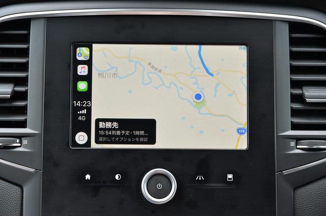 画像: 7インチフルカラーTFTメーターを搭載しているが、カーナビは設定なし。だが、Apple CarPlayやAndloid Autoに対応しているので、それほど不便には感じない。