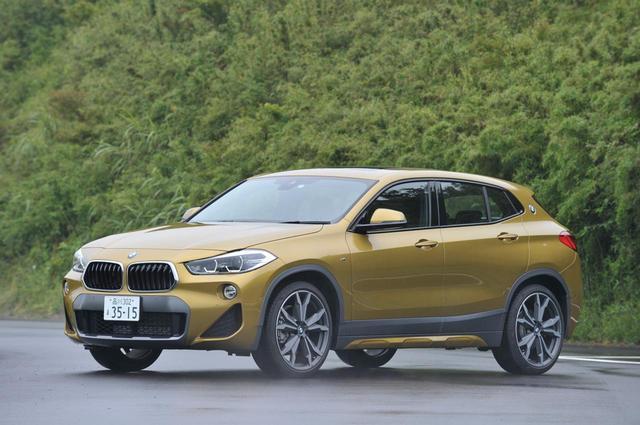 画像: 今回試乗したのは4WDの、BMW X2 xDrive20i M Sport X。