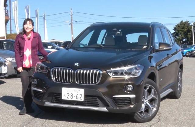 画像: 【動画】 竹岡 圭のクルマdeムービー 「BMW X1」2016年1月放映  (2015年10月FMC/2017年8月一部変更/2018年1月価格改定)