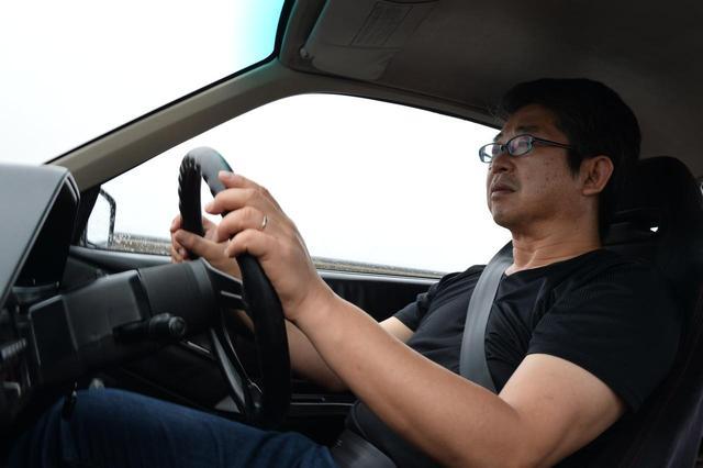 画像: 当時、アドバンHFタイプDを新車装着したCR-Xのオーナーだったカンバラ氏。