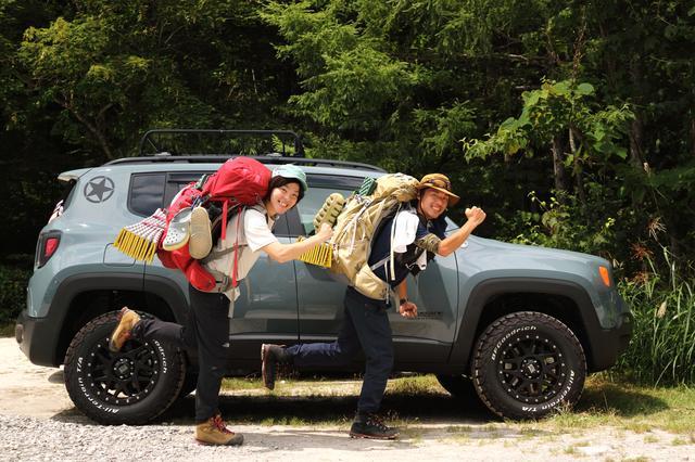 画像: Jeep®オーナーの喜びが伝わってきます。北アルプス燕岳登山で車中泊をした時のショットだそうです。