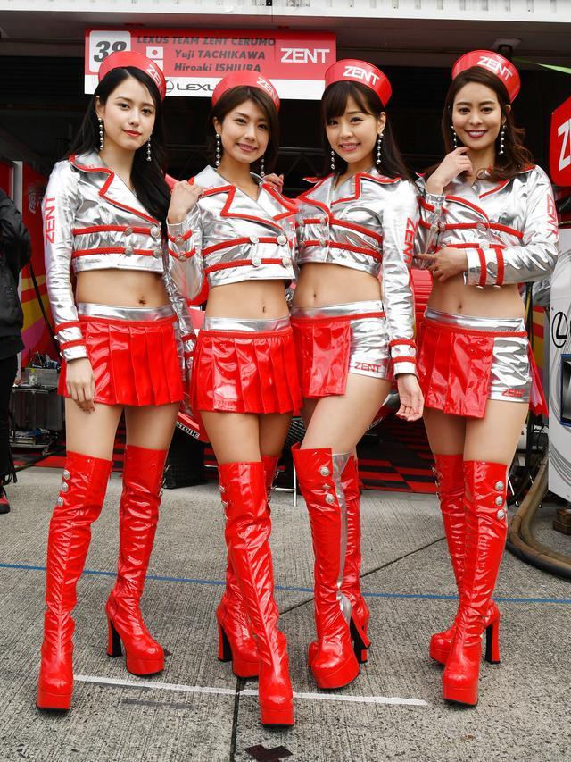 画像: 左より チャナナ沙梨奈さん 藤木由貴さん 川村那月さん 大柳麻友さん