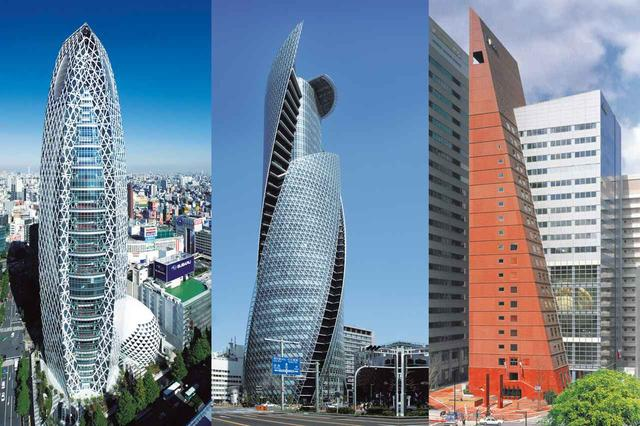 画像: 左から東京キャンパス、名古屋キャンパス、大阪キャンパス。