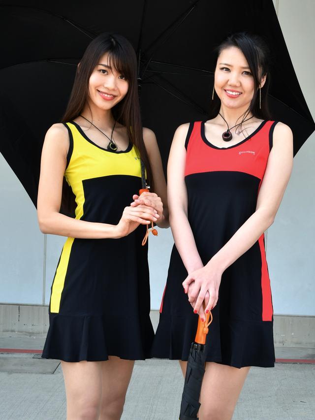 画像: 左  枇杷田(びわた)えみサン 右 南武果歩さん