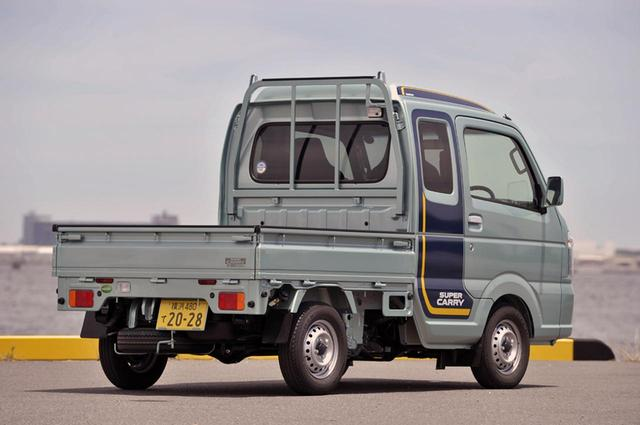 画像: キャビン後のロープフックが最も高い位置で1765mm。タイヤは145R12。