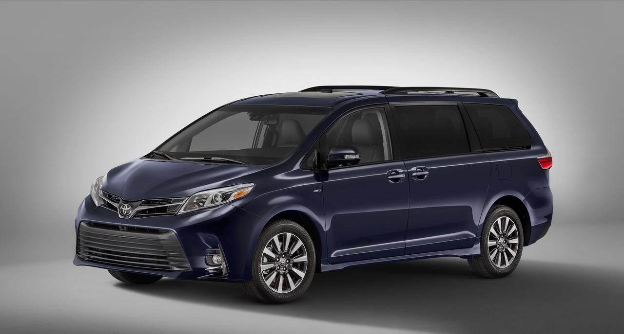 画像: 自動運転車のベースとなるのは、トヨタがアメリカで販売しているミニバンのシエナ。