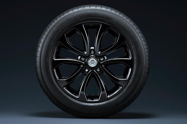 画像: 17インチ7Jのホイールを装着。タイヤサイズは215/55R17。