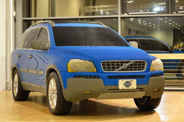 画像: レゴブロックで製作されたボルボ XC90は、ボルボミュージアムに展示されている。
