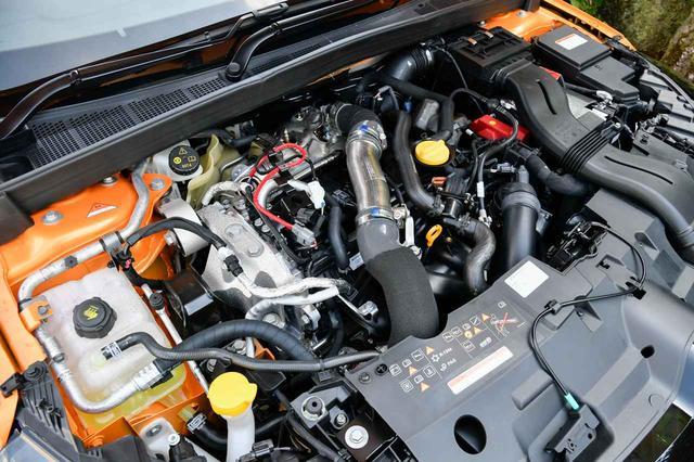 画像: 新型ルノー メガーヌ R.S.のエンジンは1.8Lターボ。