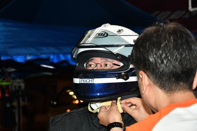 画像: 最終第4ドライバーを務めた瀬在仁志さん。
