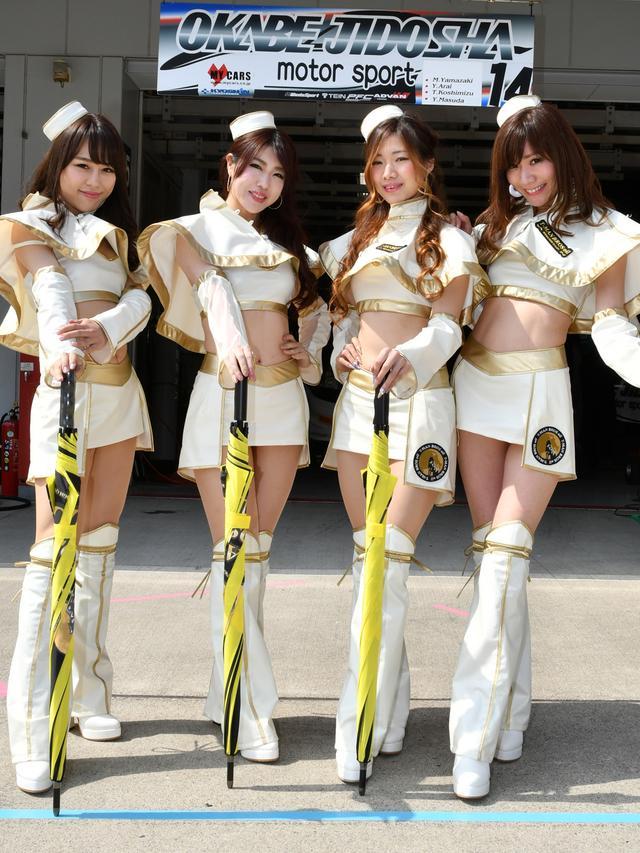 画像: 左から 長谷川りかサン 早川あゆ美さん 竹田愛美さん 七海ちかサン