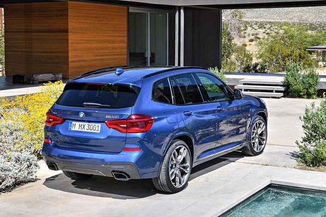 画像2: この画像は、BMW X3 M40dと同じMパフォーマンスモデルのM40iのもの。