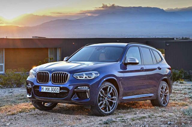 画像1: この画像は、BMW X3 M40dと同じMパフォーマンスモデルのM40iのもの。