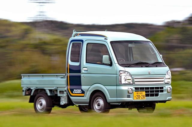 画像: 【試乗】スズキ・スーパーキャリイに試乗。軽トラだって、快適かつ安全に! 【石井昌道】 - Webモーターマガジン