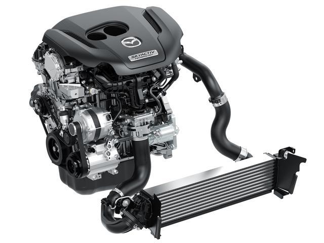 画像: SKYACTIV-G 2.5Tは最高出力230ps/4250rpm、最大トルク420Nm/2000rpmを発生する。