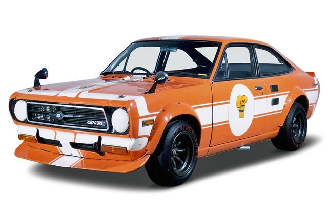 画像: 日産の座間ヘリテージコレクションに展示されているサニーは、1972年の東京モーターショーに参考出品された実車だ。