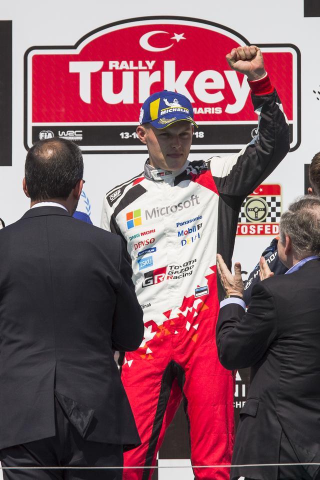 画像: 2018年シーズン、すでに4勝をあげドライバーズ部門3位につけるオット・タナック。