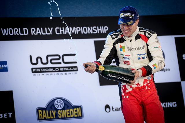 画像: トヨタWRC復帰初優勝をプレセントしたのはヤリ-マティ・ラトバラだった。