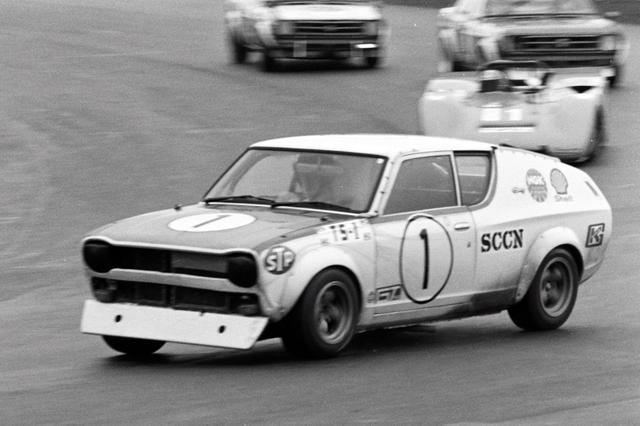 画像: 1972年のレースドニッポンに参戦するチェリー。ドライバーは星野一義選手!