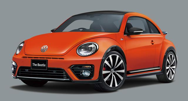 画像: The Beetle 2.0 R-Line Meister。ボディカラー:ハバネロオレンジメタリック