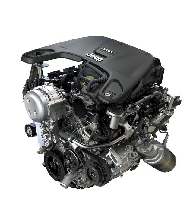画像: 最新仕様の3.6L V6自然吸気ユニット。