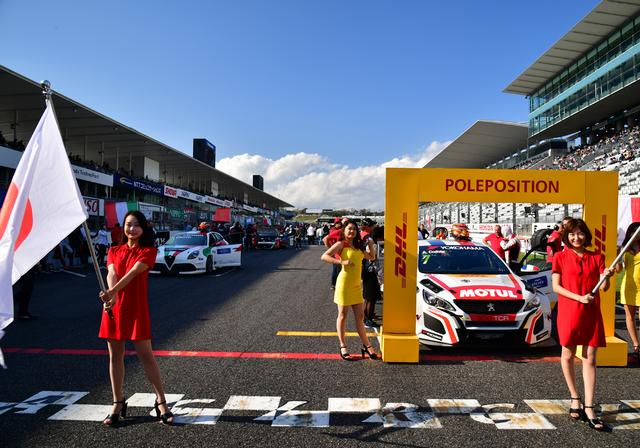画像1: RACE1ポールはプジョー