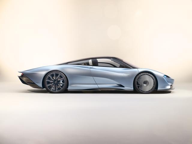 画像: マクラーレン市販車史上最速を誇るプロポーション。