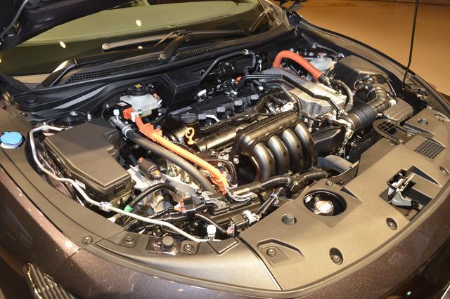 画像: 1.5L 直列4気筒アトキンソンサイクルエンジンに、2個のモーターにリチウムイオンバッテリーを搭載したハイブリッドシステムを採用。ホンダは2030年にグローバルな4輪販売台数の3分の2を電動化することを目指しているが、インサイトはそのための重要なモデルということになる。