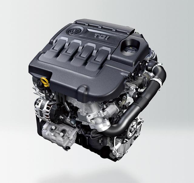 画像: 先代が2.0TSIエンジンを搭載していたのに対し、新型は2.0TDIエンジンを選択。骨太なディーゼルエンジン搭載にこだわった。