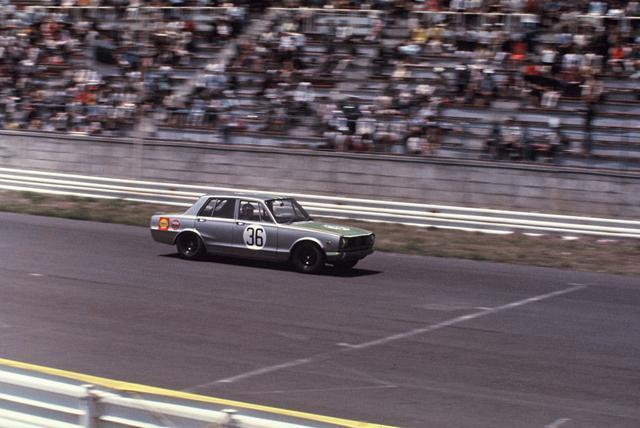 画像: デビュー戦となった1969年のJAFグランプリ。コースは富士スピードウェイ。