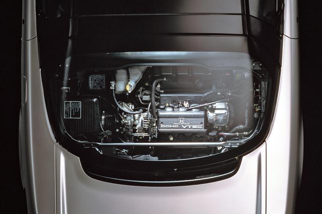 画像: 3LのV6エンジンはVTEC機構も備え、当時の自主規制値だった280psと30kgmを発生した。
