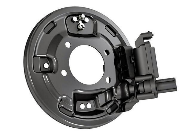 画像: ドラムブレーキ用電動パーキングブレーキ「EPB-Si」。