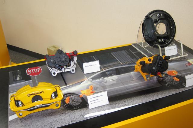 画像: コンチネンタル社が開発している、さまざまなバイワイヤ・ブレーキ。