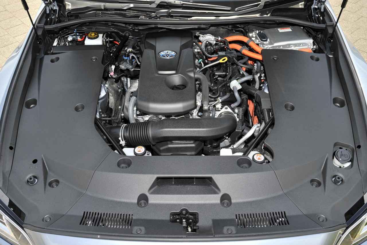Images : 試乗車は2.5L 直4+モーターのハイブリッドを搭載。