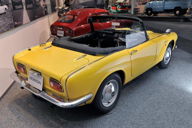 画像: Sシリーズは総計2万5853台を生産、その内S800は1万1406台を数えた。