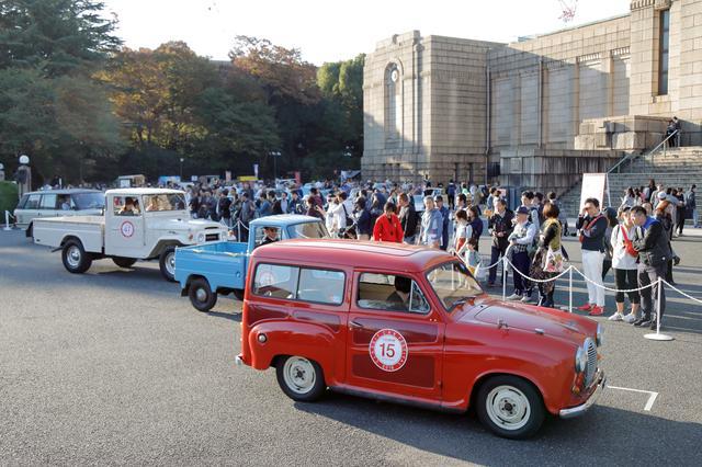 画像: オーナー車両の紹介にも多くのギャラリーが集まっていた。