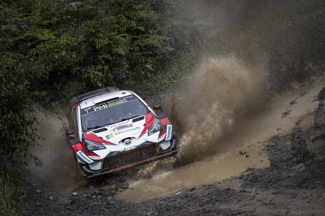 画像: 最終戦で今季初優勝を飾ったトヨタのヤリ-マティ・ラトバラ/ミーカ・アンティラ(トヨタ ヤリス WRC)。