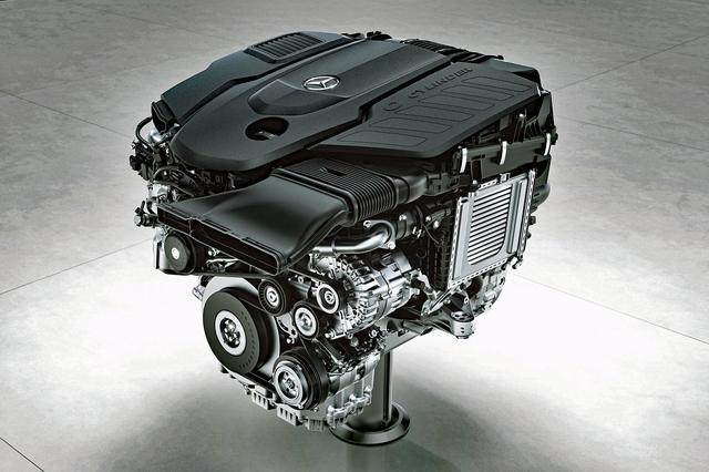 画像: メルセデス・ベンツのOM656型 直6ディーゼルエンジン。4気筒のOM654型の6気筒版といえる。