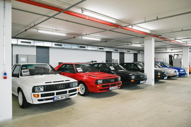 画像: 往年の名車を復活させ、実際に走れる状態で維持管理する部門が「アウディ トラディション」。そこには世界的に見ても貴重なモデルが多数所蔵されている。一般公開はされていない。