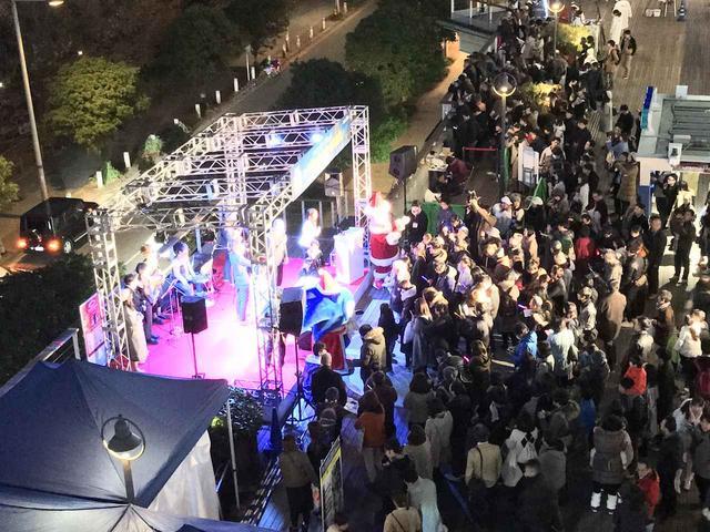 画像: 2017年に開催された点灯イベントの模様。(写真提供:首都高速道路株式会社)