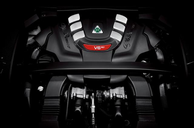 画像: 最高出力510ps、最大トルク600Nmという圧倒的な性能を発揮するファラーリ製2.9L V6ツインターボエンジン。気筒休止システムも採用。