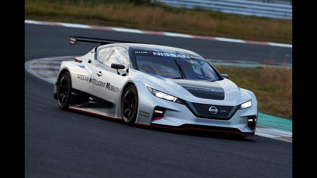 画像: Nissan unleashes all-new LEAF NISMO RC www.youtube.com