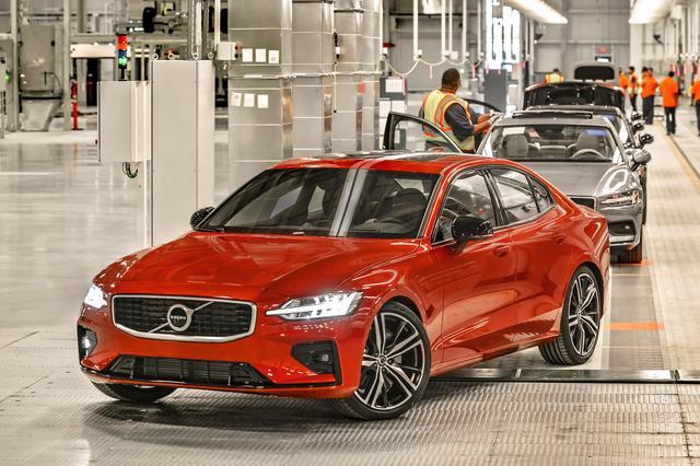 画像: チャールストン工場で生産されるS60。