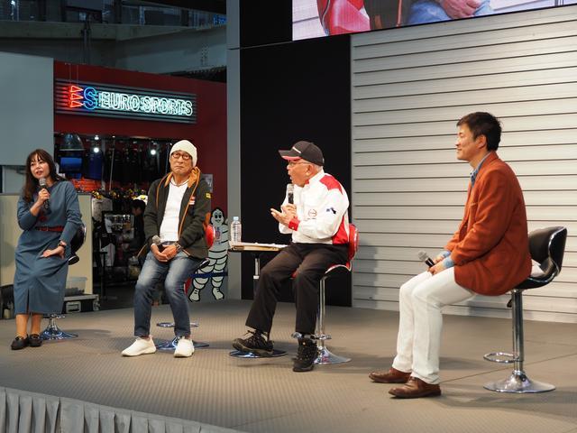 画像: セミナーのエンディング風景。左から竹岡さん、横田さん、菅原さん、寺田さん。