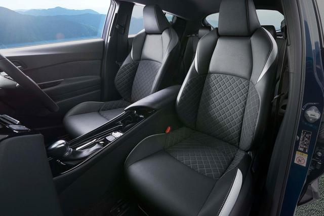 画像: トヨタ C-HRの特別仕様車「モード-ネロ(Mode-Nero)」のシート。